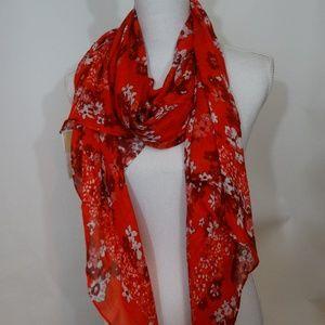 MICHAEL Michael Kors Pretty Flower Scarf Wrap